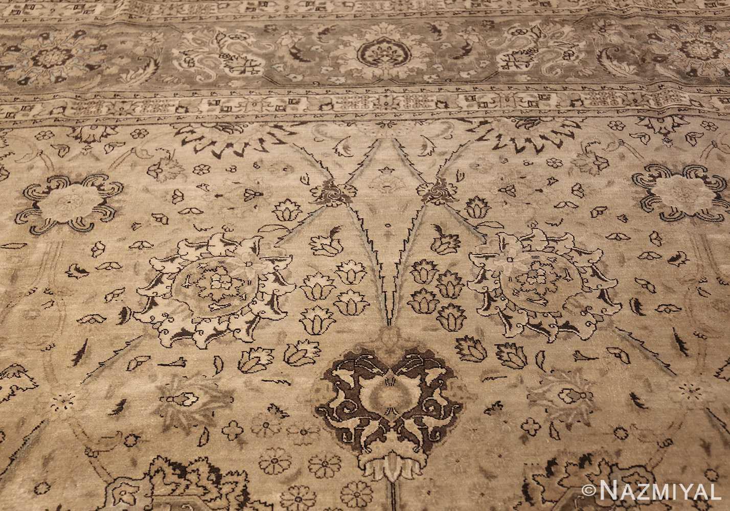 vintage persian tabriz rug 45768 top Nazmiyal