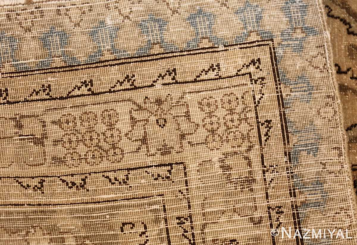 vintage persian tabriz rug 45768 weave Nazmiyal