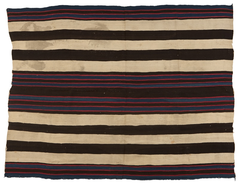 Navajo Blanket Most Expensive Navajo Chiefs Blanket Sold At Auction