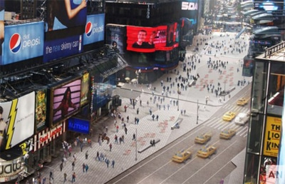 Time Square Redesign
