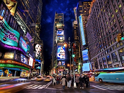 Times Square Landmark New York