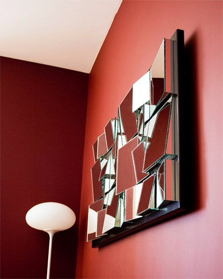 Contemporary Mirrors: Fun-house Mirror Design by Nazmiyal