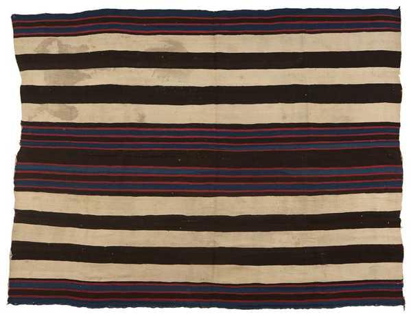 Navajo Blanket Most Expensive Navajo Chiefs Blanket Sold