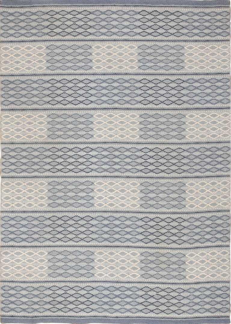 vintage swedish double sided rug 46236 Nazmiyal