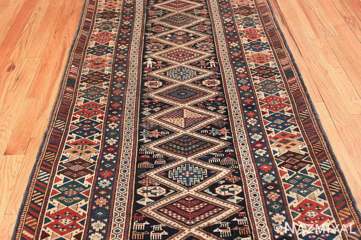 antique caucasian shirvan rug 46196 field Nazmiyal