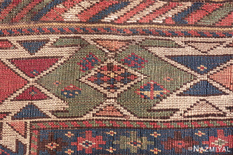 antique caucasian shirvan rug 46196 knots Nazmiyal