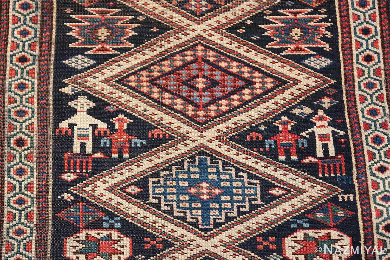 antique caucasian shirvan rug 46196 men Nazmiyal