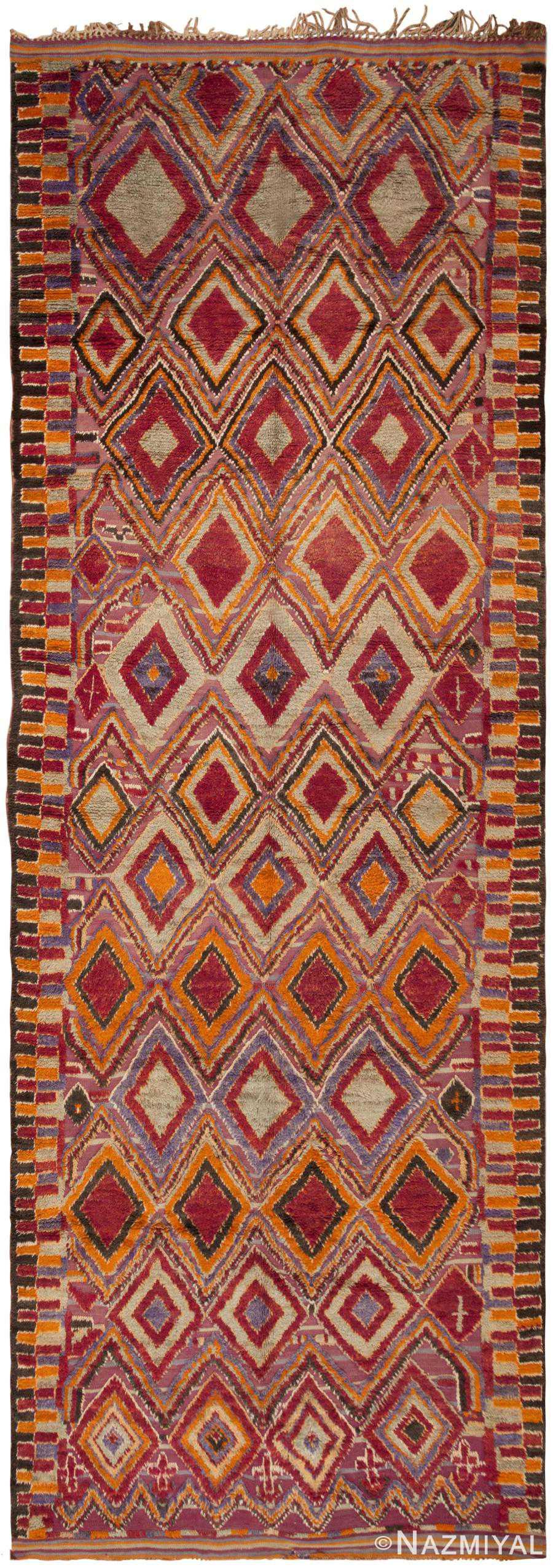 Vintage Moroccan Rug 45996 Large View