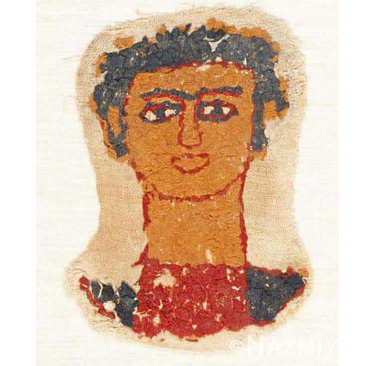 Early Coptic Egyptian Textile 46131 Nazmiyal