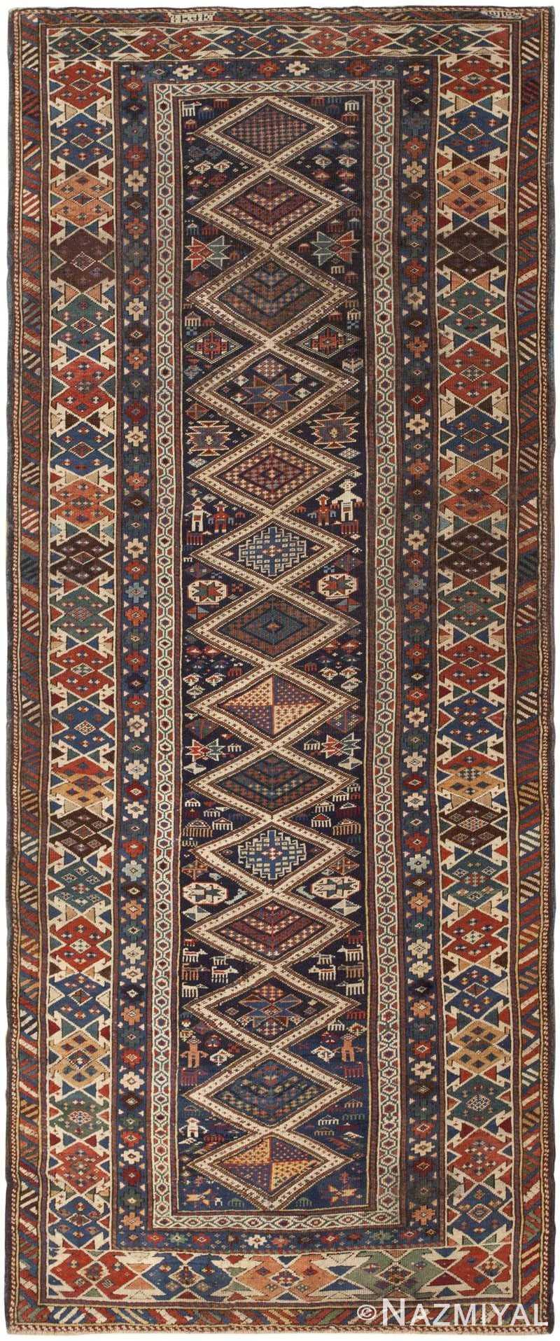 Antique Shirvan Rug 46196 Detail/Large View