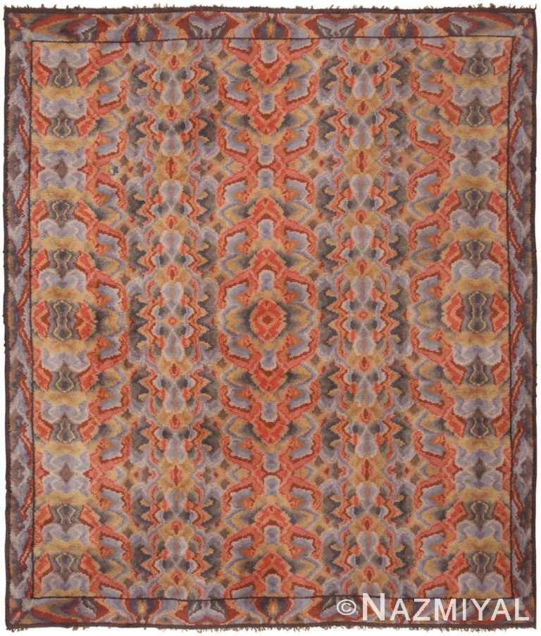 Vintage Swedish Rug 46239 Detail/Large View