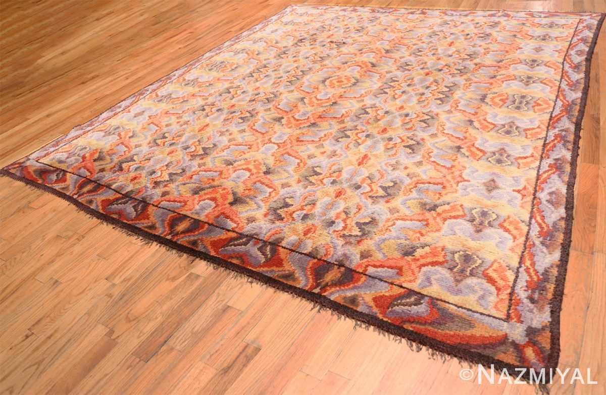 Full Vintage Swedish Scandinavian rug 46239 by Nazmiyal