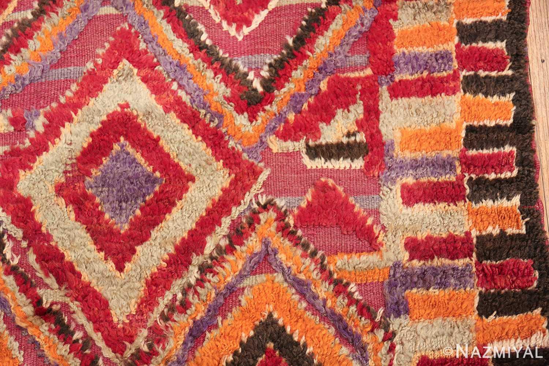 large size vintage moroccan rug 45996 border Nazmiyal
