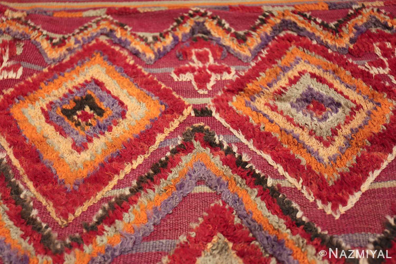 large size vintage moroccan rug 45996 diamond Nazmiyal