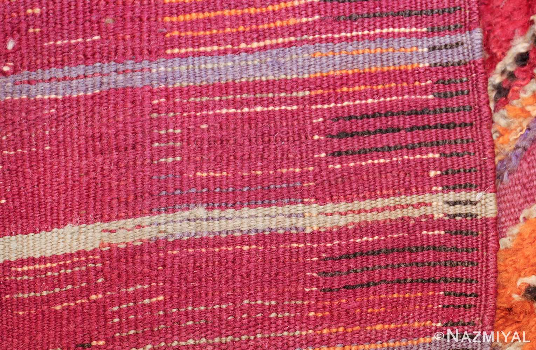 large size vintage moroccan rug 45996 knots Nazmiyal