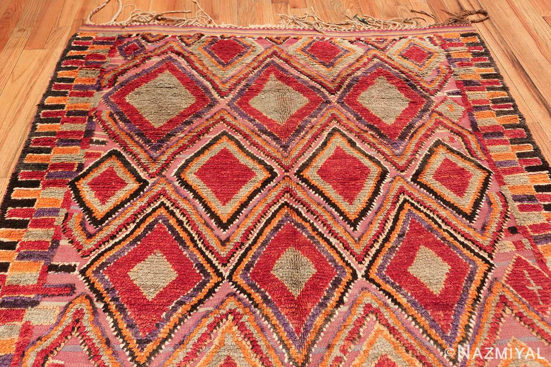 large size vintage moroccan rug 45996 top Nazmiyal