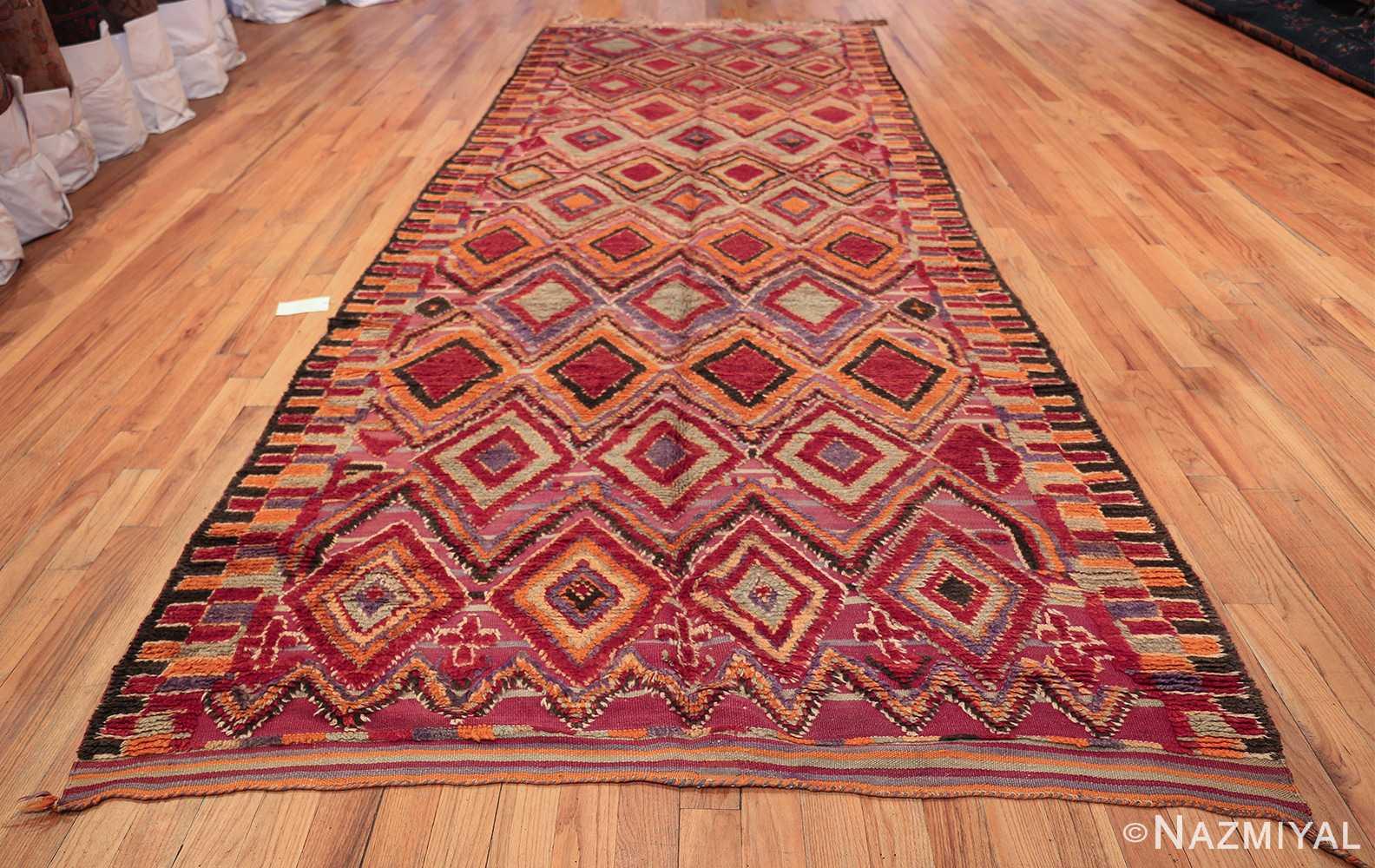 large size vintage moroccan rug 45996 whole Nazmiyal
