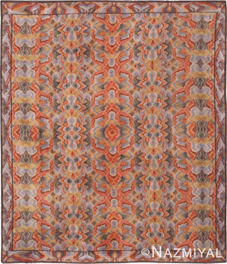 Vintage Pile Room Size Swedish Area Rug #46239 by Nazmiyal Antique Rugs