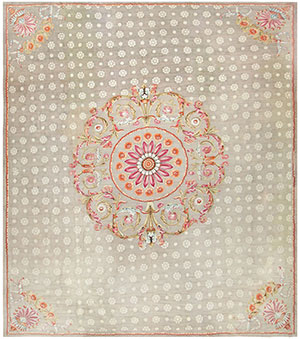 Antique Charles the X French Aubusson Rug 50171 Nazmiyal