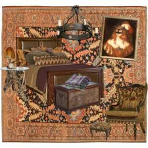 Interior Designs with Antique Rugs