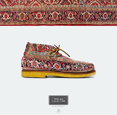 Anton Repponen Persian Rug Shoes Fashion - NAzmiyal