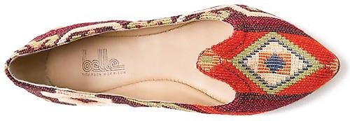 Belle Kilim Shoe Fashion by Sigerson Morrison - Nazmiyal