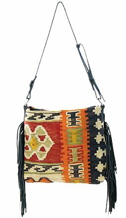 Tylie Malibu Vintage Kilim Fashion Bags - Nazmiyal