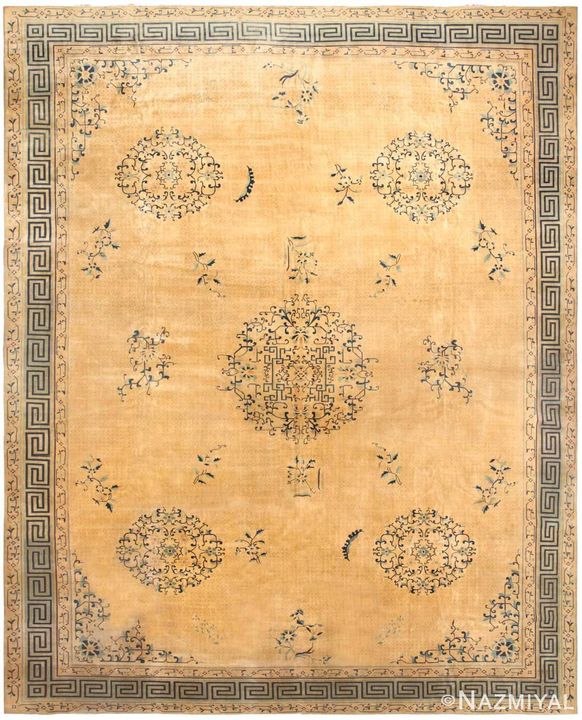 Antique Chinese Rug 44469 Detail/Large View