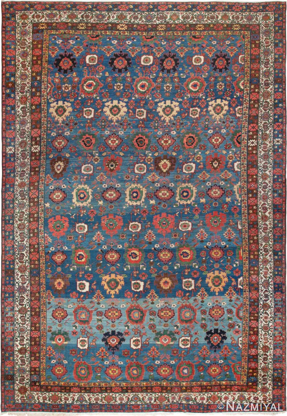 Antique Persian Malayer Rug 45761 Detail/Large View