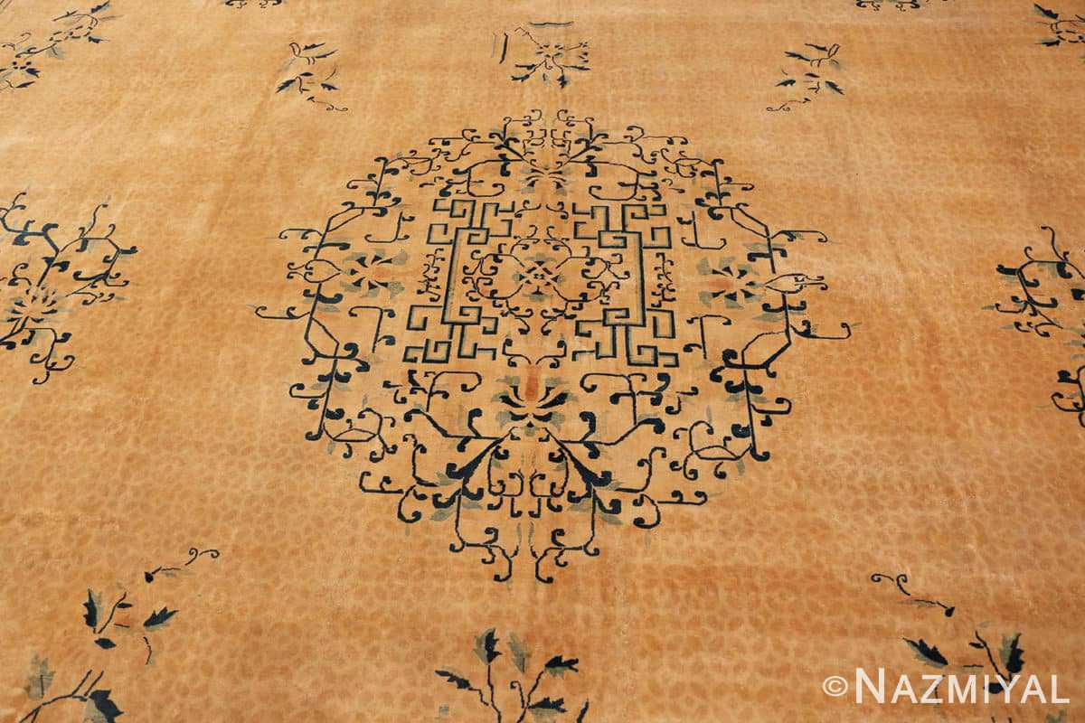 Detail Background detail Antique Chinese rug 44469 by Nazmiyal
