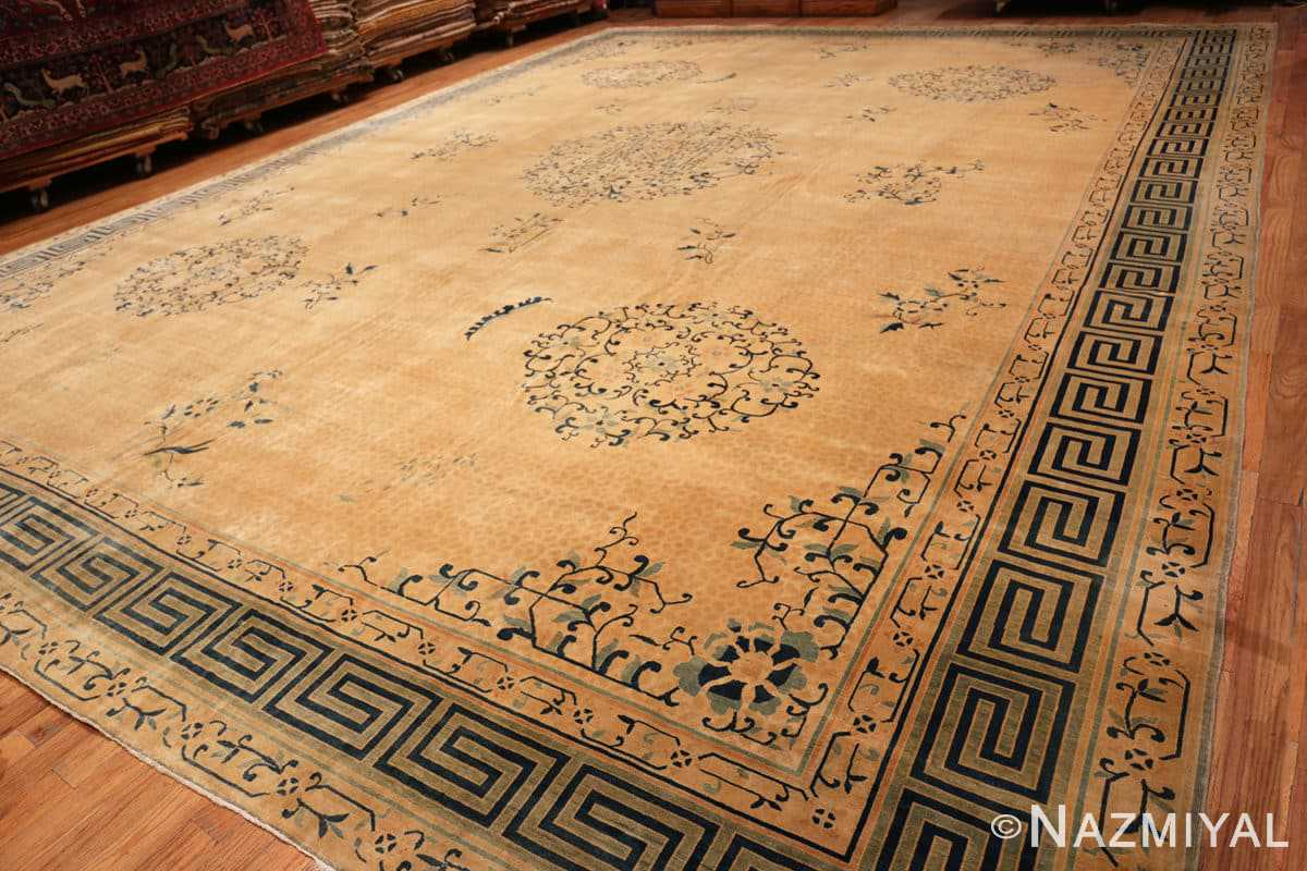 Full Background detail Antique Chinese rug 44469 by Nazmiyal