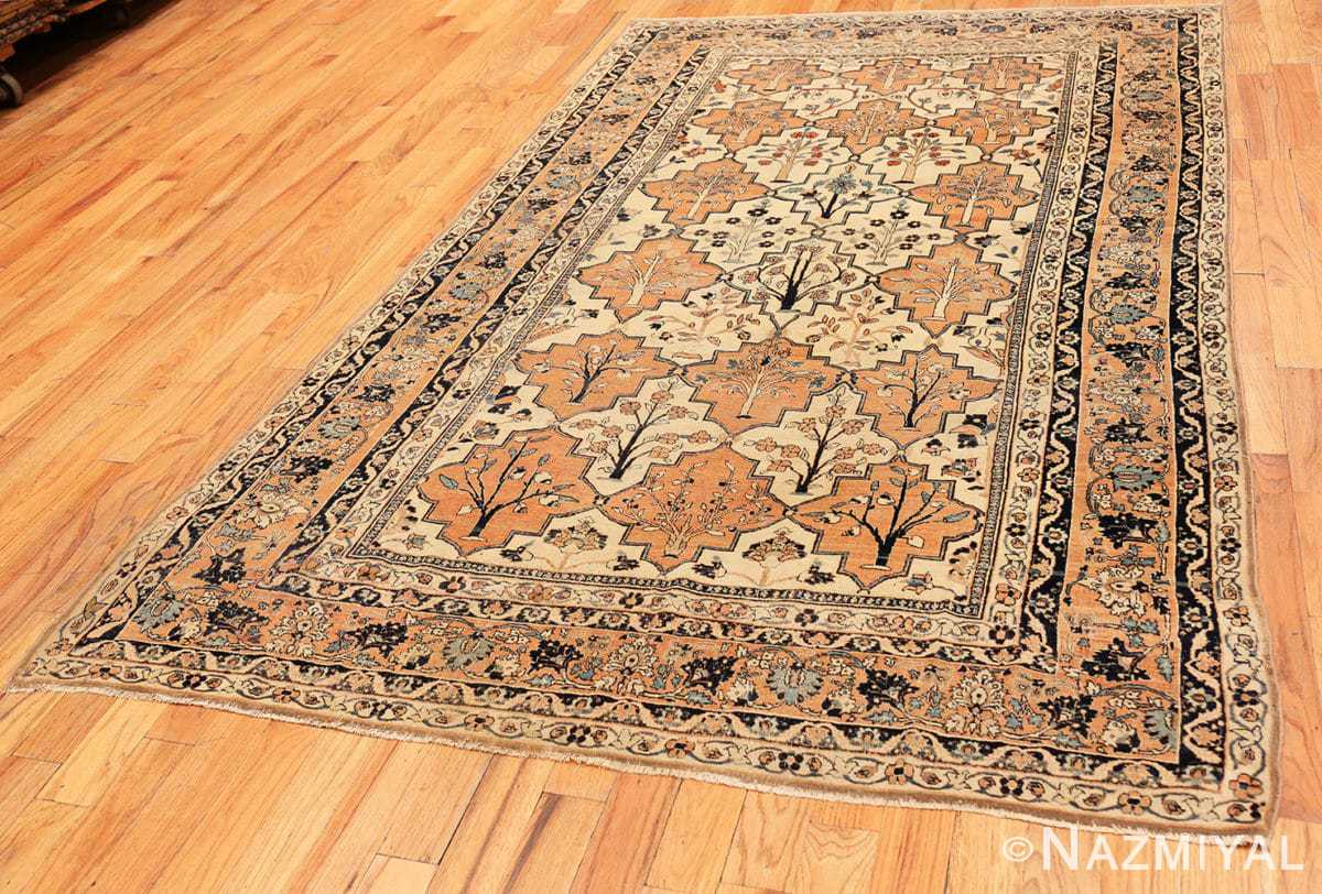 Full Antique Persian Tabriz rug 46179 by Nazmiyal