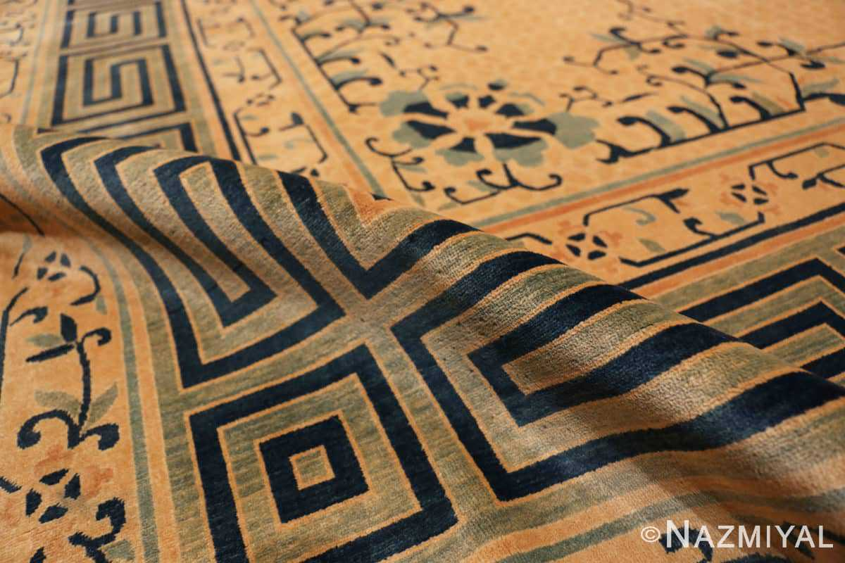Pile Background detail Antique Chinese rug 44469 by Nazmiyal