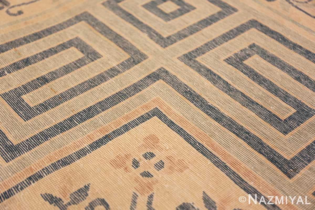 Weave detail Background detail Antique Chinese rug 44469 by Nazmiyal