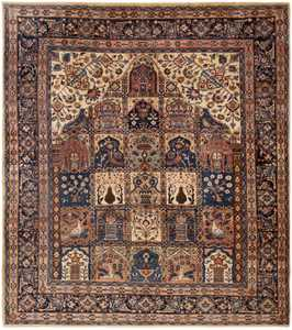 Antique Persian Khorassan Rug 46362 Large Image