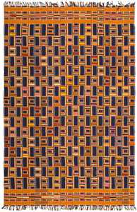 Antique Ewe Kente Cloth 46376 Detail/Large View