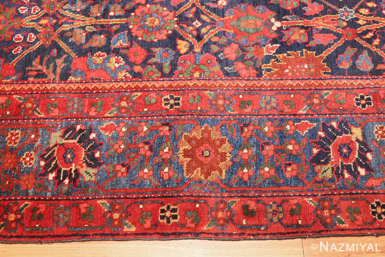 antique kurdish bidjar rug 46363 border Nazmiyal