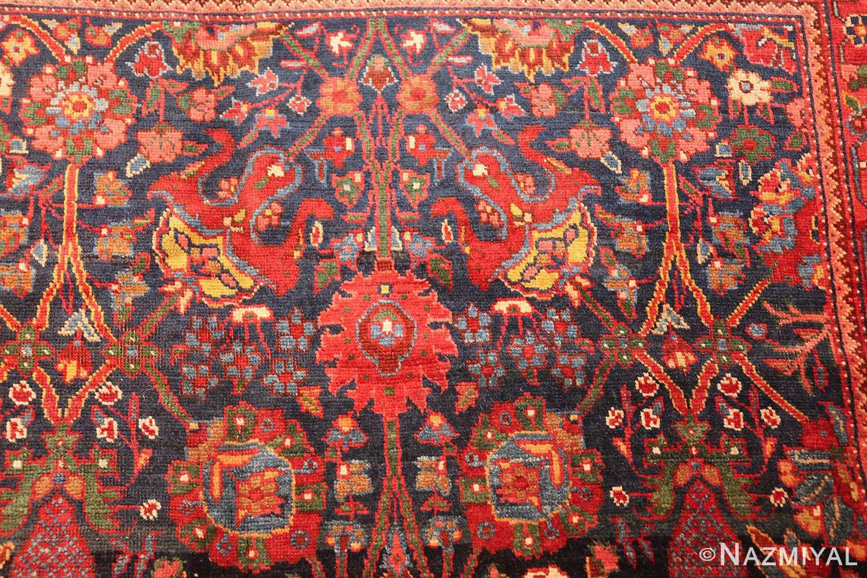 antique kurdish bidjar rug 46363 design Nazmiyal