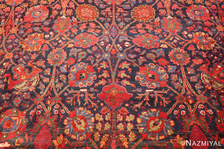 antique kurdish bidjar rug 46363 red Nazmiyal