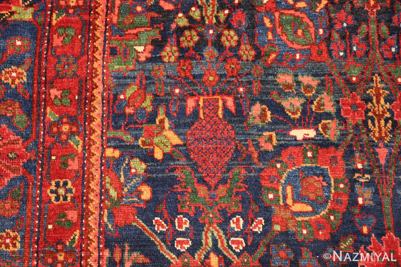 antique kurdish bidjar rug 46363 vase Nazmiyal
