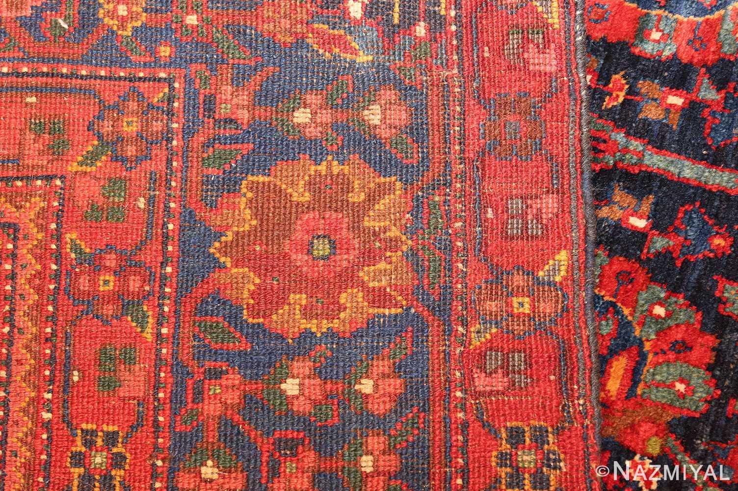 antique kurdish bidjar rug 46363 weave Nazmiyal