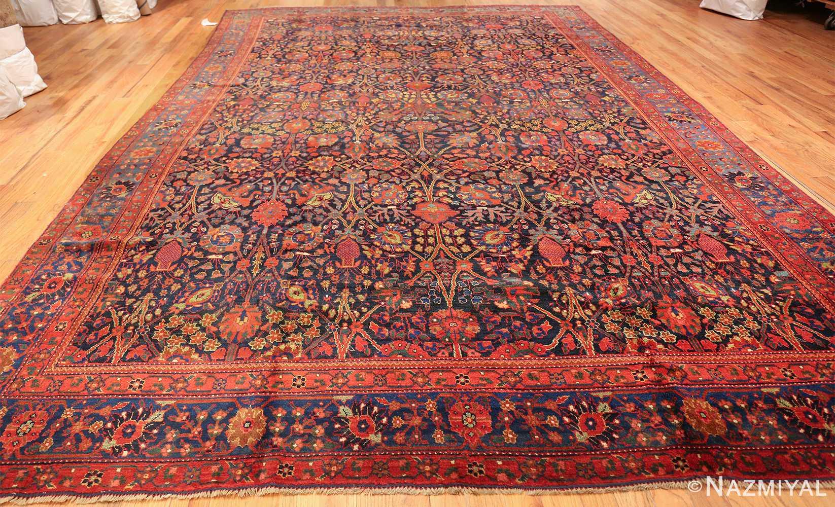 antique kurdish bidjar rug 46363 whole Nazmiyal