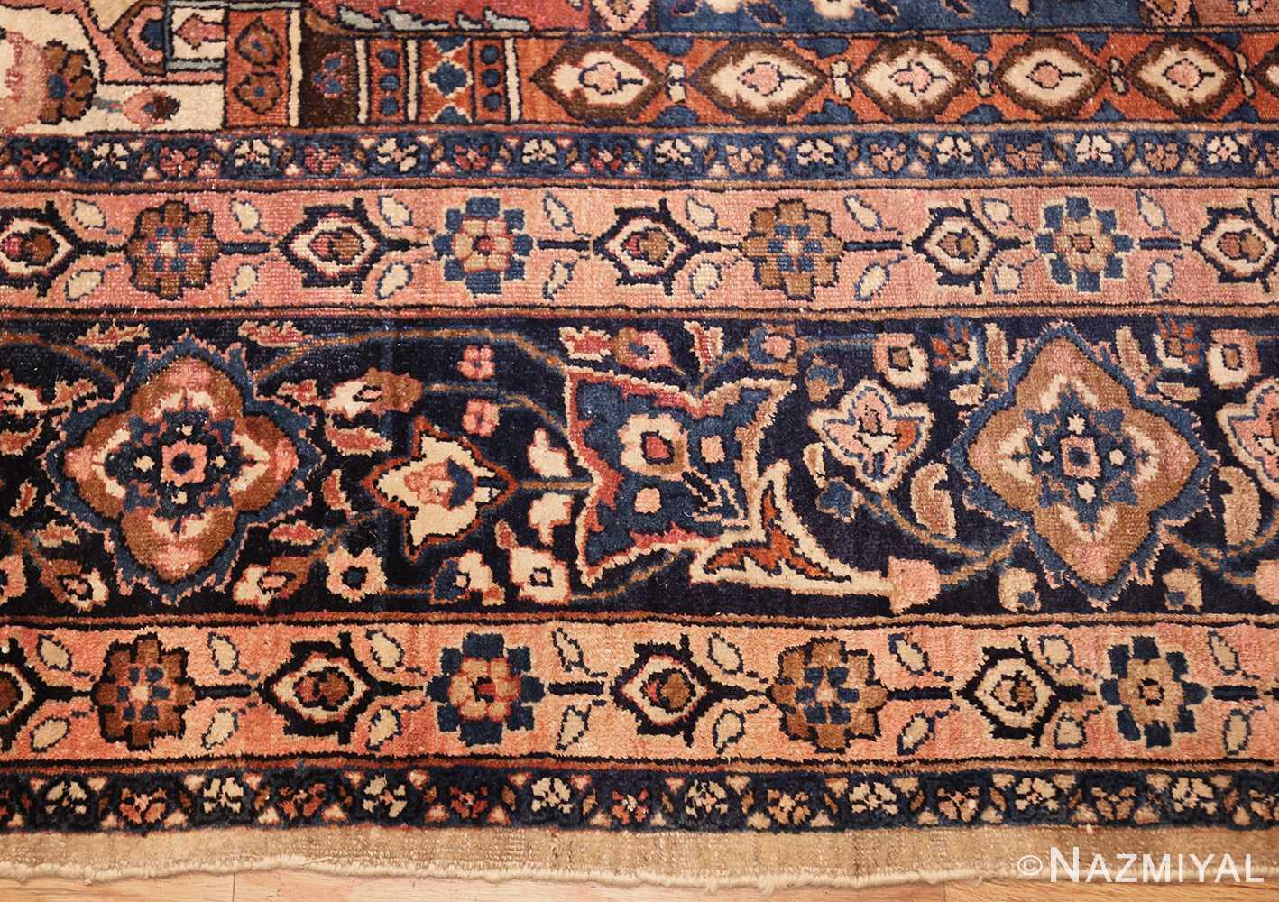 antique persian khorassan rug 46362 border Nazmiyal