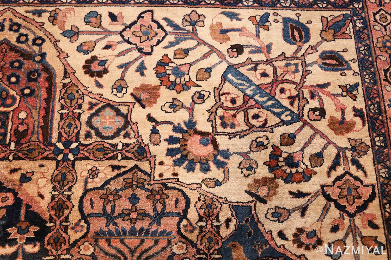antique persian khorassan rug 46362 design Nazmiyal