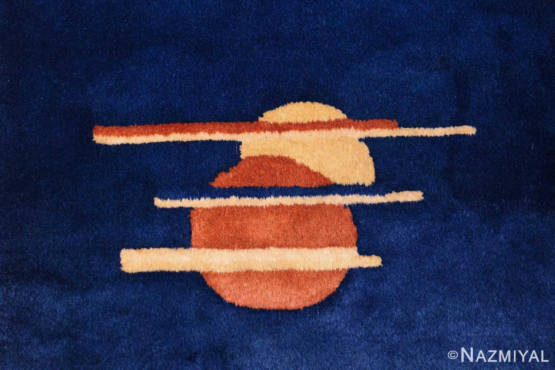 chinese art deco rug 46369 circles Nazmiyal