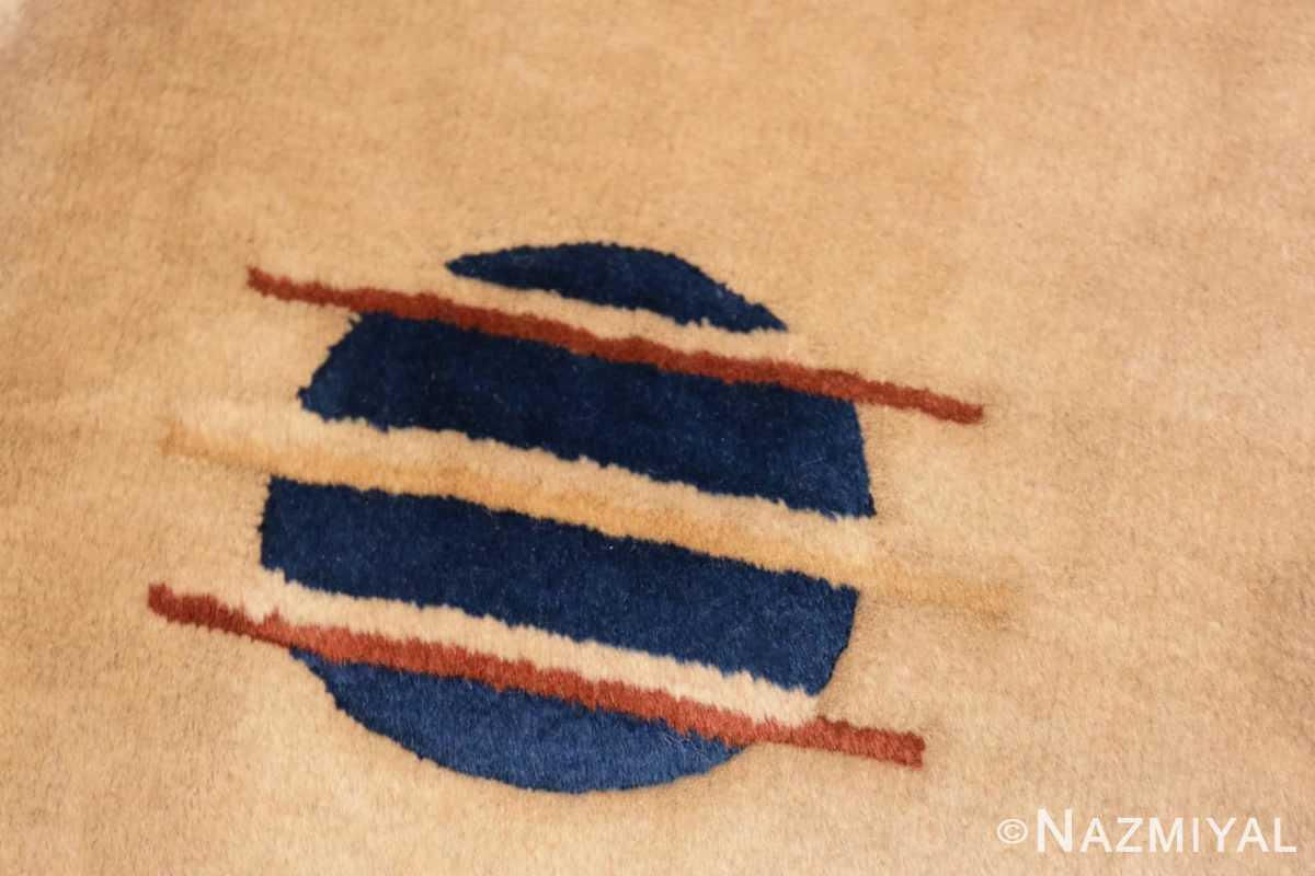 Close-up Chinese Art Deco rug 46368 by Nazmiyal