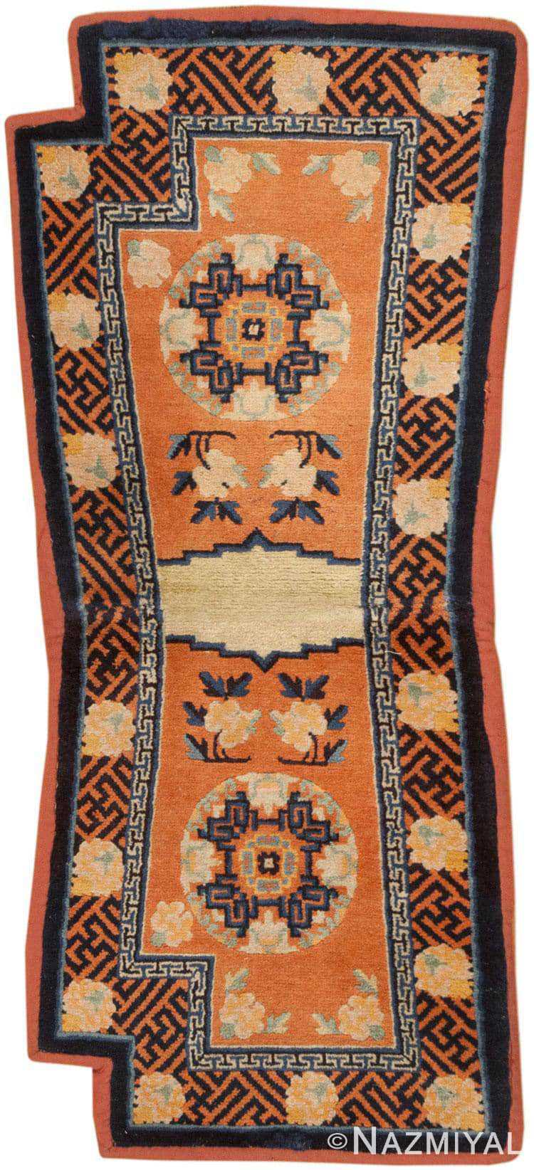 Collectible Antique Tibetan Saddle Horse Cover #46360 by Nazmiyal Antique Rugs