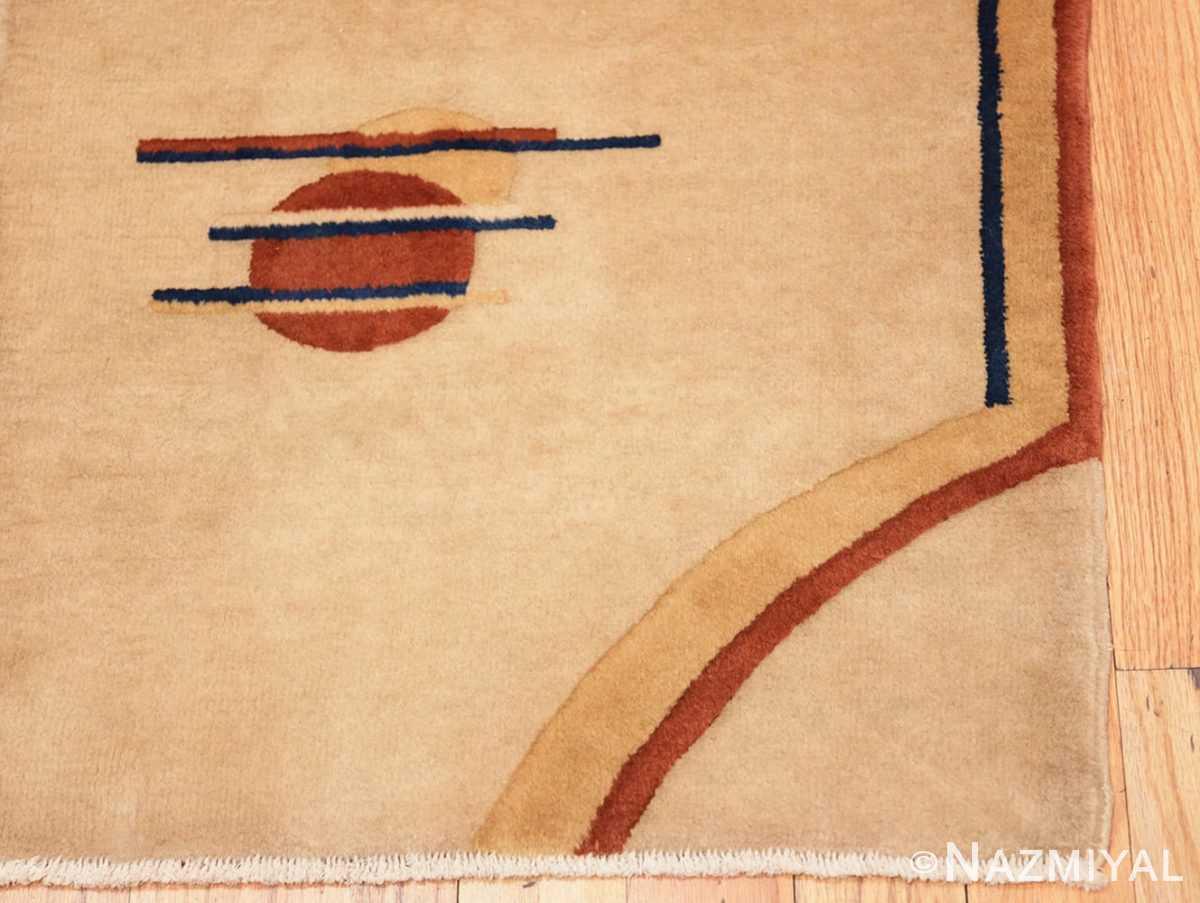 Corner Chinese Art Deco rug 46368 by Nazmiyal