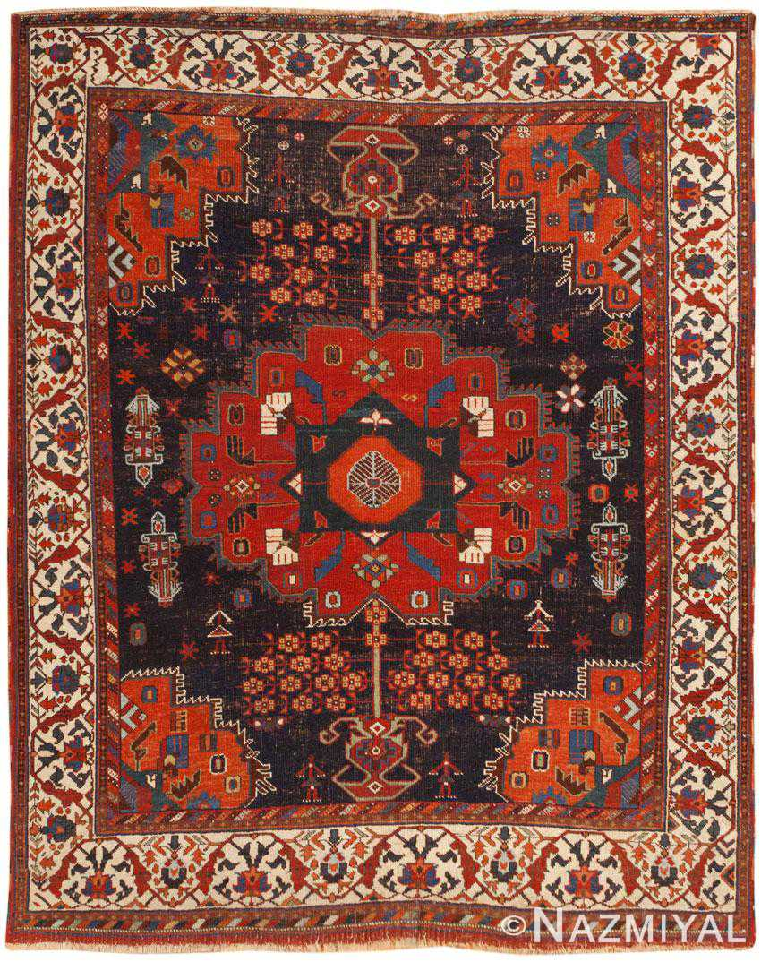 Antique Persian Afshar Rug 46324 Large Image