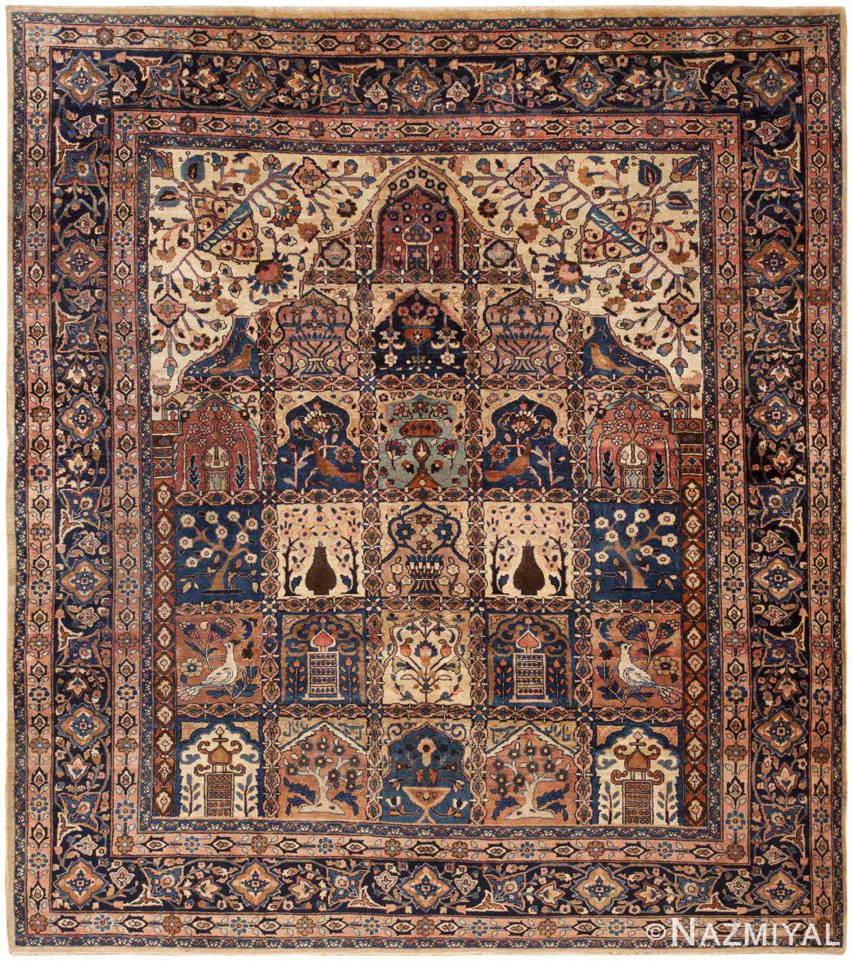 Antique Persian Khorassan Rug 46362 Large Image